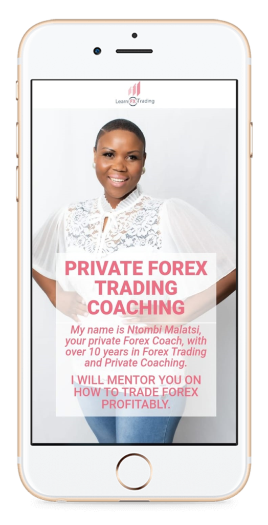 learn fx trading mobile app screen
